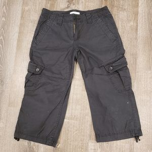 Express cropped cargo pants